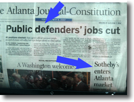 Atlanta Journal-Constitution, 8 May 2007