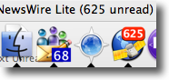 Look at all those unread items!