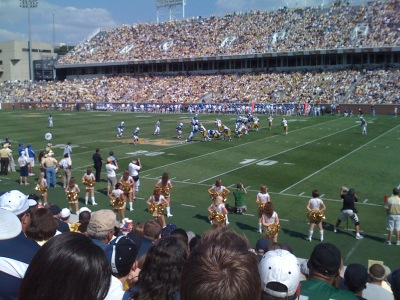 A sunny, winning day at Grant Field