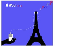 iPod and the Eiffel Tower